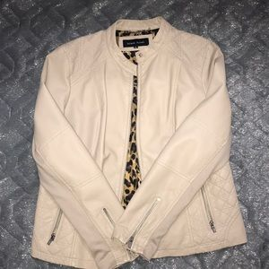 Light Cream Motto Jacket